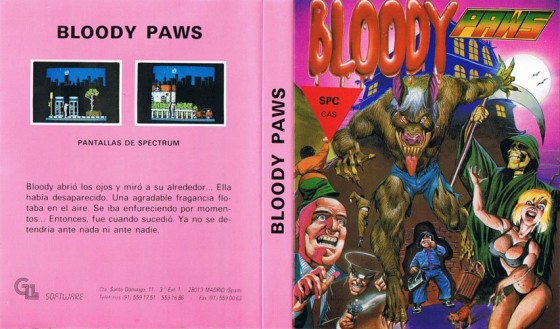 Bloody Paws