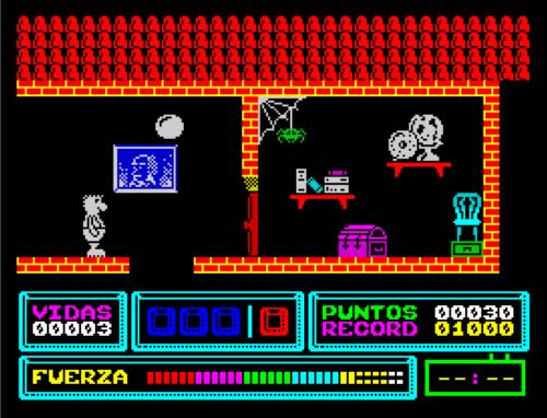 Versión ZX Spectrum