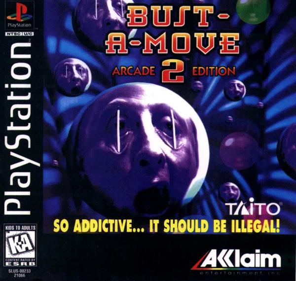 Bust-a-Move 2 - Arcade Edition [U] [SLUS-00233]-front