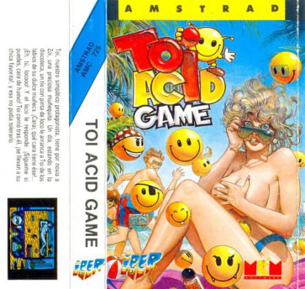 Toi Acid Game (Caja ZX Spectrum)