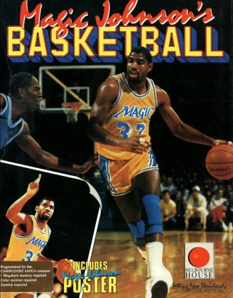 Magic Johnson's Basketball_caja
