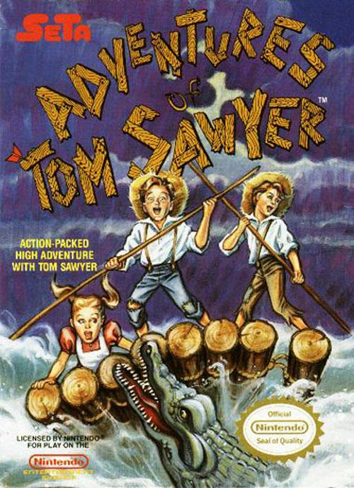 Adventures Of Tom Sawyer (front)
