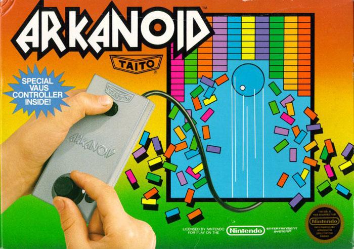 Arkanoid (front)
