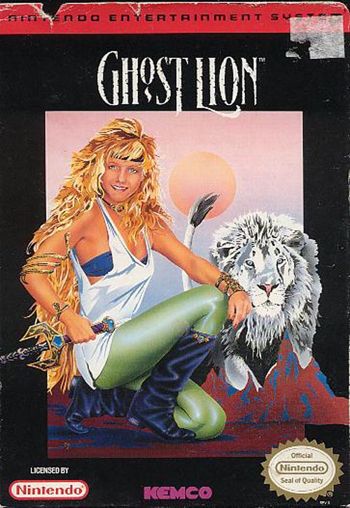 Legend of the Ghost Lion -f