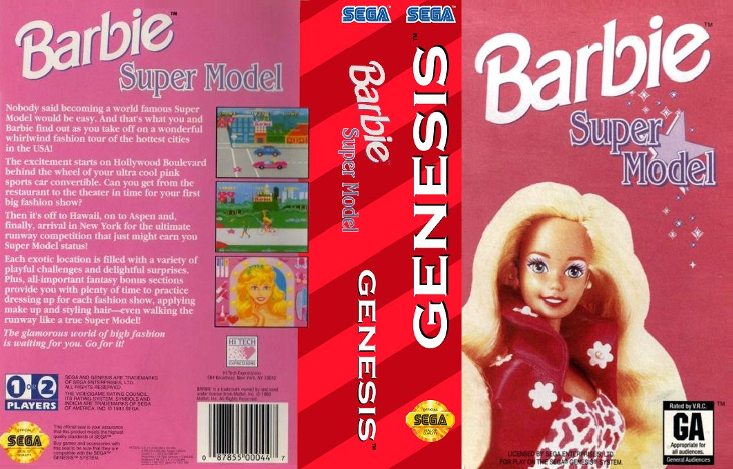 Barbie - Super Model (USA)